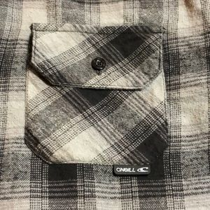 O'Neill Jackets & Coats - O'Neill Men's Fleece Lined Flannel Shirt Jacket